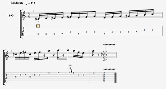 Как играть хроматические ноты