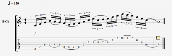 Триольные шестнадцатые ноты